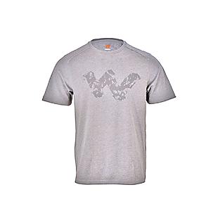 Wildcraft Men Crew T Shirt - Light Grey Melange