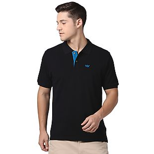 Wildcraft Men Polo T Shirt - Black