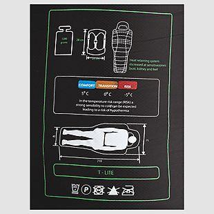 Wildcraft T-LITE Sleeping Bag - Black
