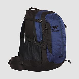 Wildcraft Rucksack For Trekking Eiger Plus 35L - Blue
