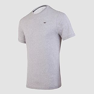 Wildcraft Wildcraft Hypacool Men Essential Crew T Shirt - Grey Melange