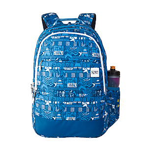 Wildcraft Wiki 5 Aztec Backpack - Blue