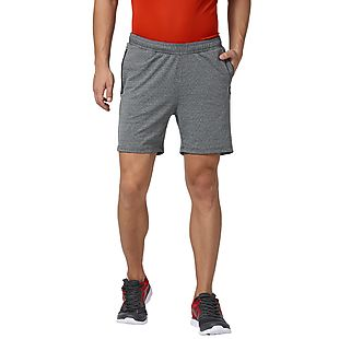 Wildcraft Men Running Shorts Pointel Knit