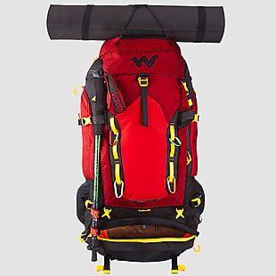 Wildcraft Rucksack For Trekking Rodhas 65L - Red