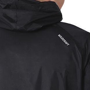 Wildcraft Hypadry Unisex Rain Coat - Black