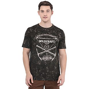 Wildcraft Men Crew WC Camo