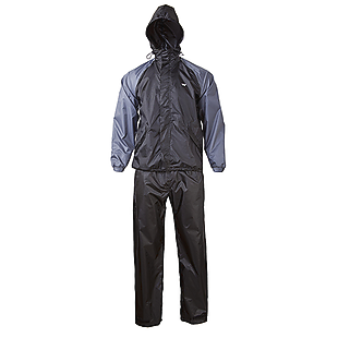 Wildcraft Rainwear- Rain Pro Jacket - Black Grey