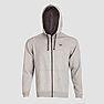 Wildcraft Men Sweatshirt Zipper For Winter - Grey Melange