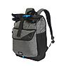 Wildcraft Urbium Laptop Backpack With Front Darted Pocket - Black Melange